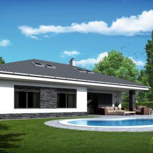 Nízkoenergetický drevodom s valbovou strechou | woodhouse.sk