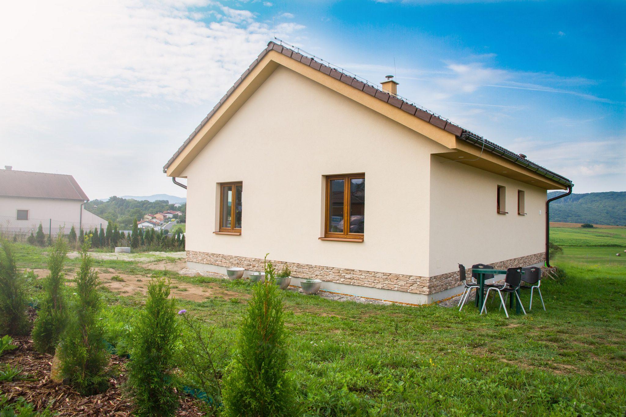 Moderný 3 izbový bungalov | woodhouse.sk