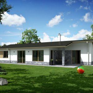 Nízkoenergetický dom pre 4 – člennú rodinu | woodhouse.sk