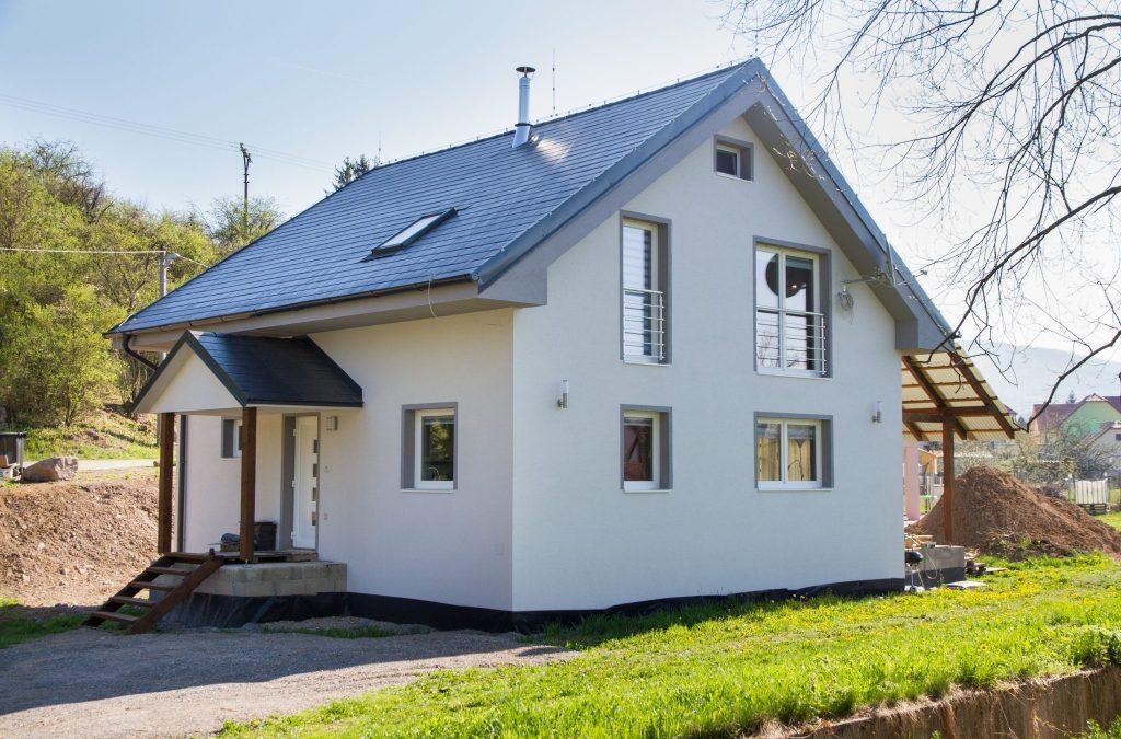 Dvojpodlažný nízkoenergetický dom - realizácia   woodhouse.sk