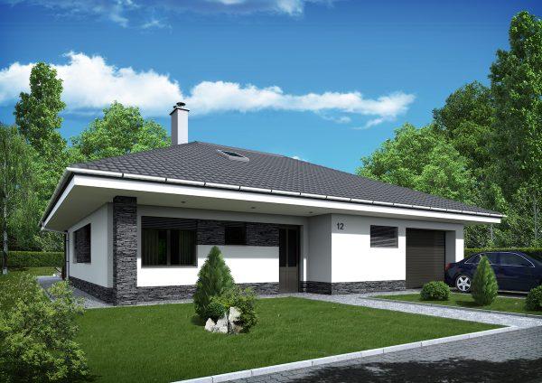Nízkoenergetický drevodom s valbovou strechou | katalóg projektov