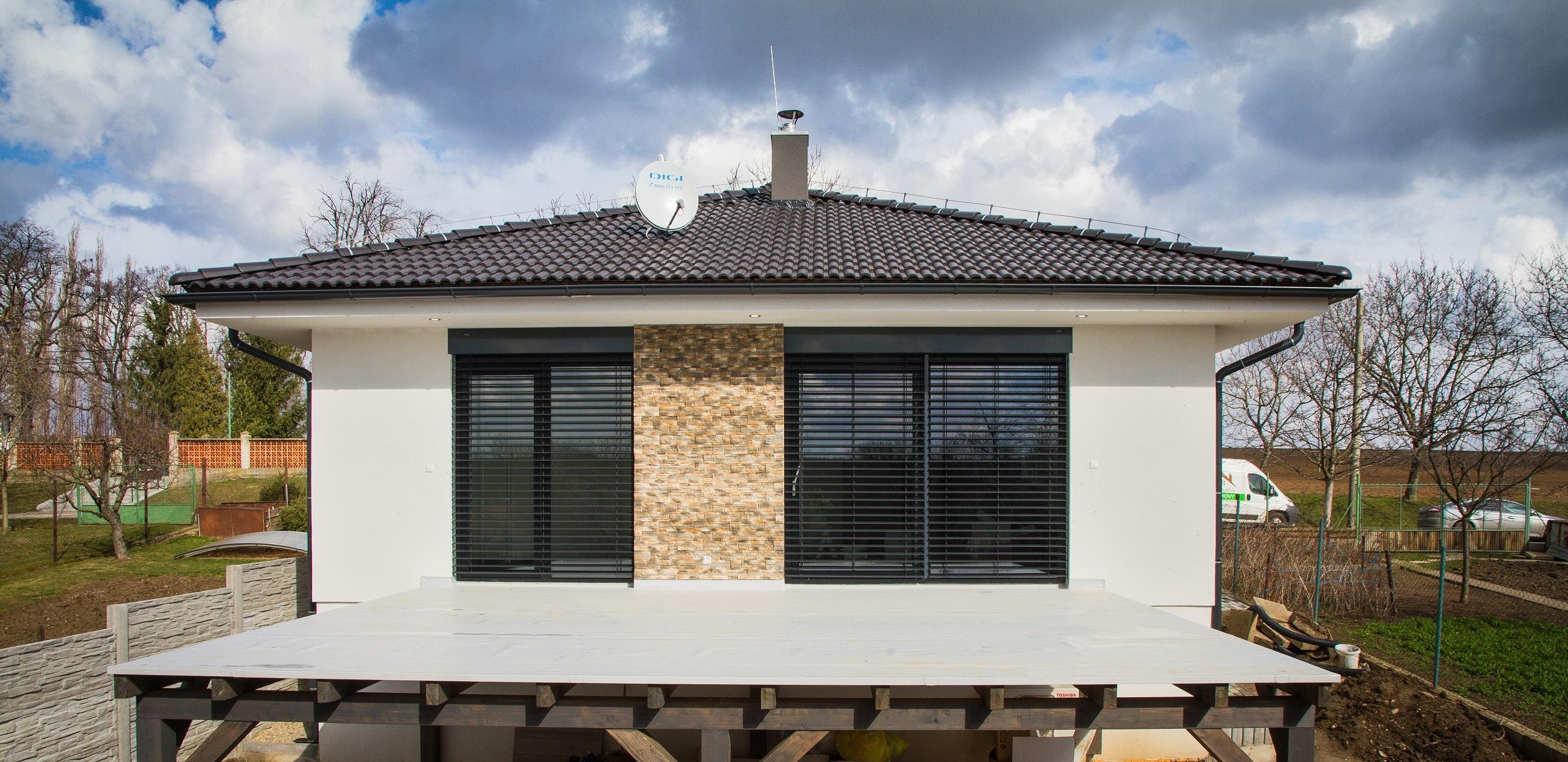 Nízkoenergetický bungalov - referencie woodhouse.sk