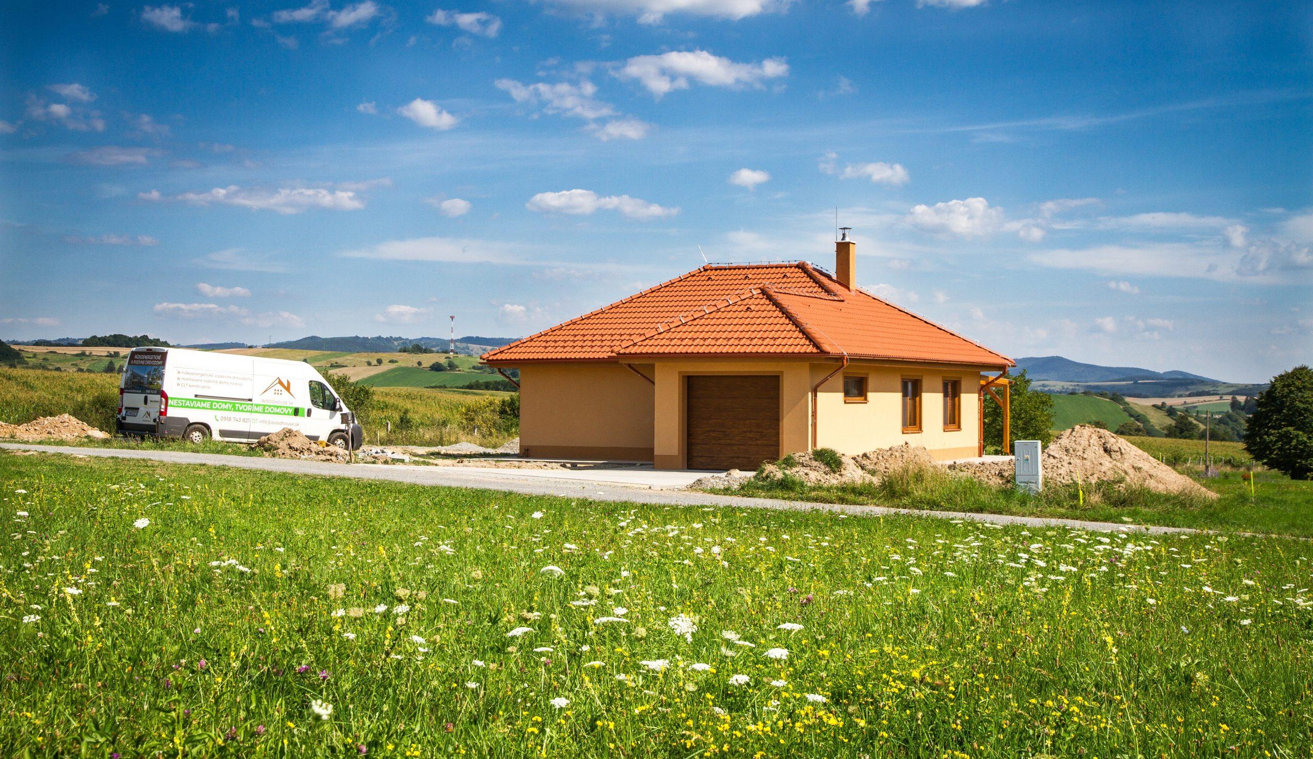 Nízkoenergetický dům - realizácia - woodhouse.sk