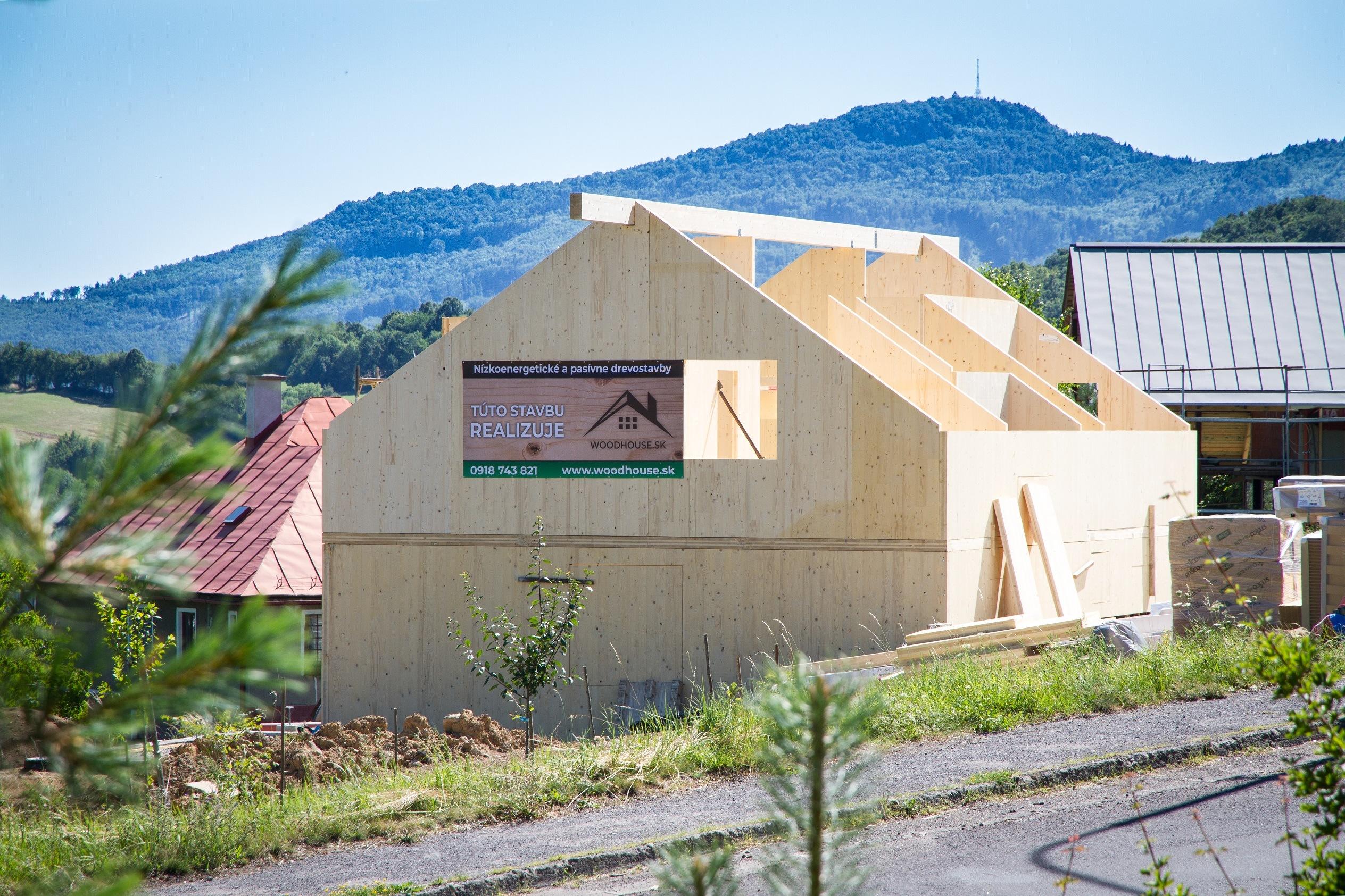 CLT drevostavba | referencie woodhouse.sk